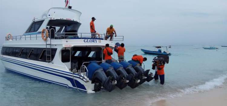 on-line ticket gili fast boat