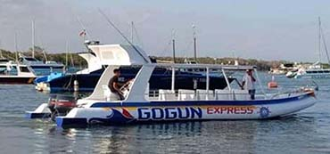 we offer only IDR 225.000 one way gili ticket fast boat